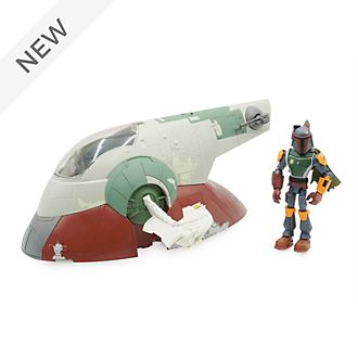 Disney Store Star Wars Toybox Slave I Ship Playset