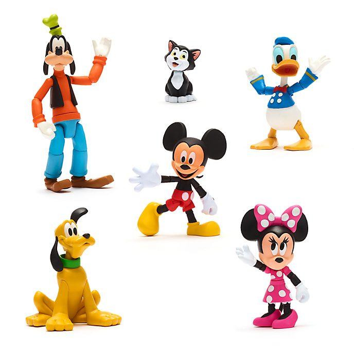 Set regalo action figure Topolino e i suoi amici Disney Toybox Disney Store