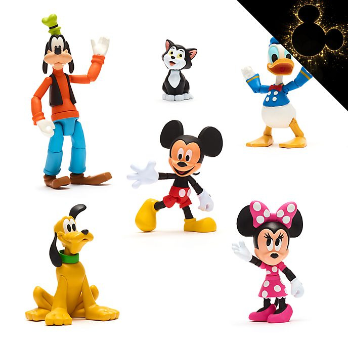 Disney Store Disney Toybox Mickey and Friends Action Figure Gift Set