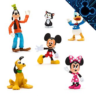 Disney Store - Disney Toybox - Micky und Freunde - Actionfiguren-Geschenkset