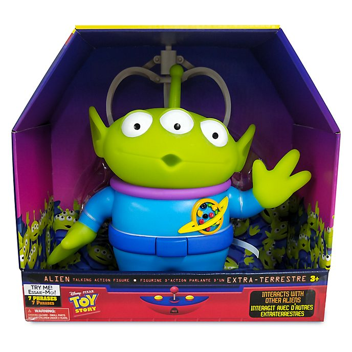 Disney Store Alien Talking Action Figure, Toy Story