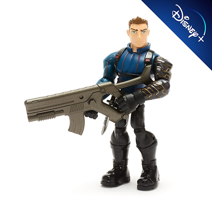 Disney Store Figurine Le Soldat de l'hiver articulée, collection Marvel Toybox
