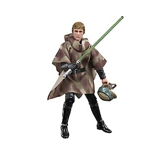 Hasbro Luke Skywalker (Endor) 6'' The Black Series Action Figure