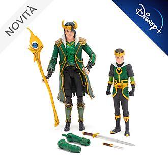 Action figure da collezione Loki Marvel Select