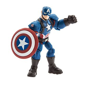 Disney Store Marvel Toybox Captain America Action Figure