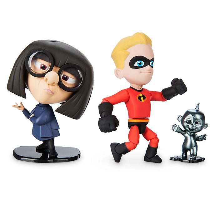 Disney/Pixar Toybox - Dash und Edna Mode - Actionfigurenset
