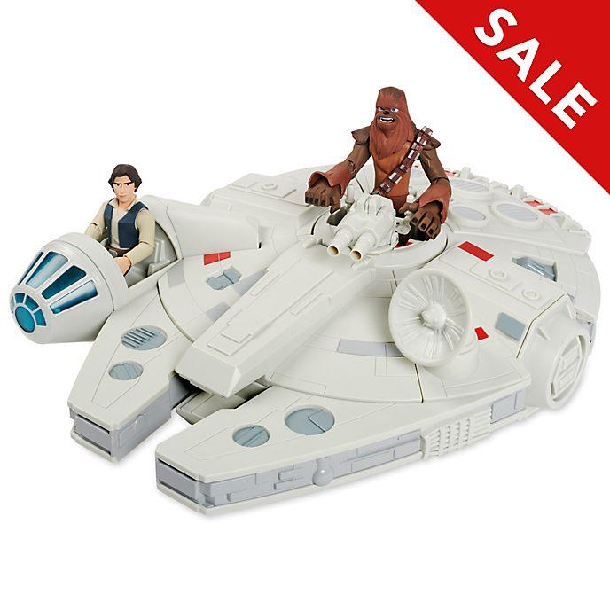 Disney Store - Star Wars Toybox - Millennium Falcon mit Actionfiguren