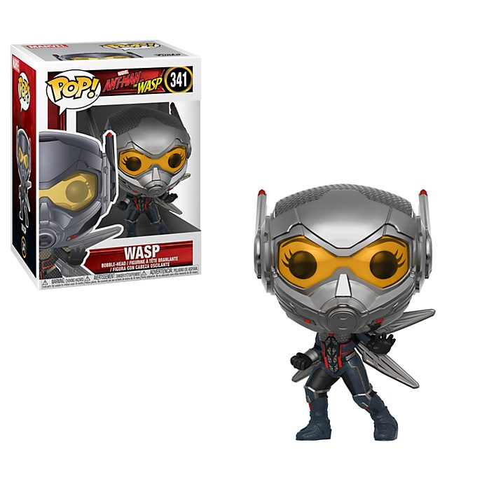 Funko portachiavi in vinile Wasp serie Pop! Ant Man and The Wasp