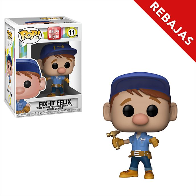 Figura de vinilo Repara-Félix, Ralph rompe Internet, Funko Pop!