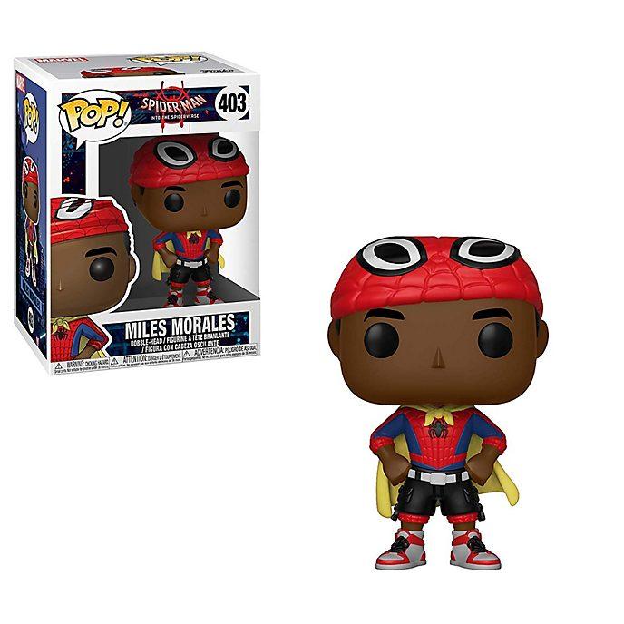 Personaggio in vinile Miles Morales con mantello serie Pop! di Funko