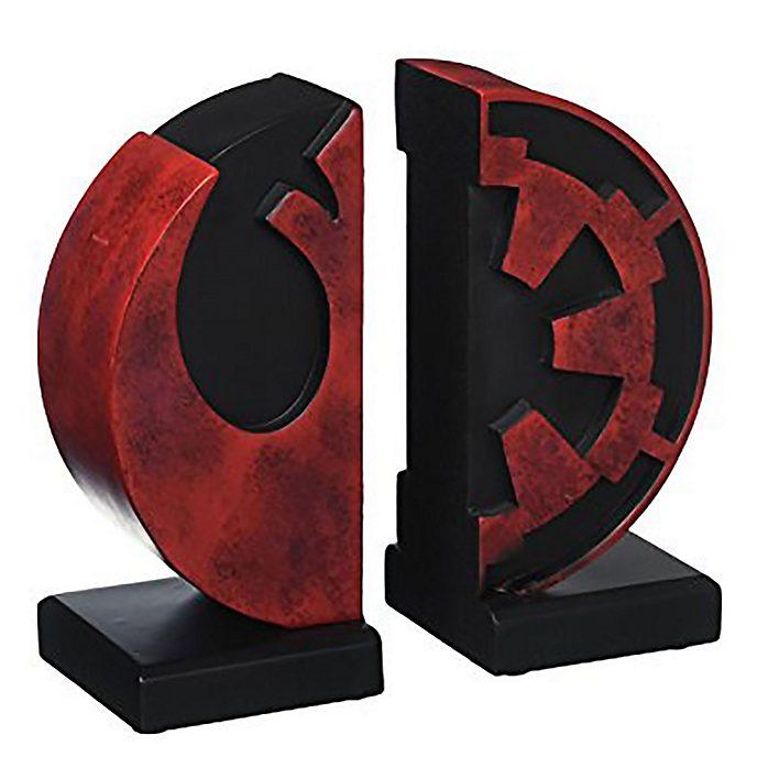Sujetalibros con logotipos Imperio y Rebelión, Star Wars, Gentle Giant (set de 2)