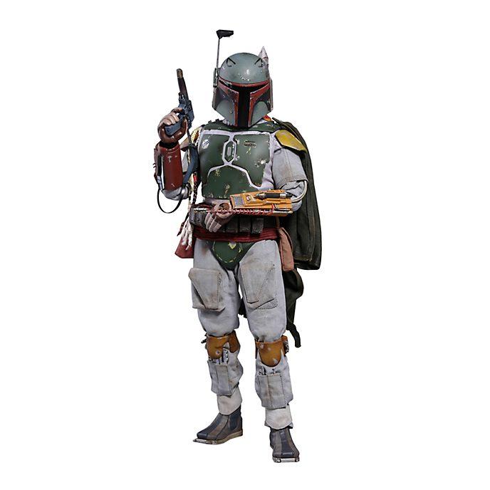 Hot Toys Figurine Boba Fett deluxe à collectionner, Star Wars, épisode V: L'Empire contre-attaque