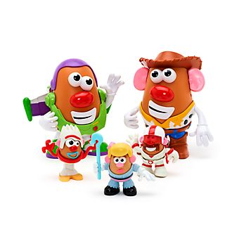 Disney Store Toy Story 4 Potato Pals Playset