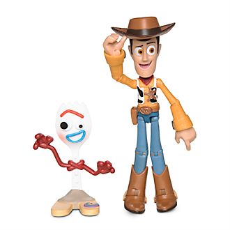 Disney Store Figurine Woody articulée, Disney Pixar ToyBox