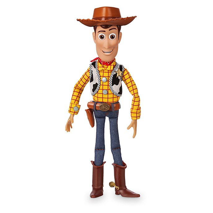 Action figure parlante Woody Disney Store