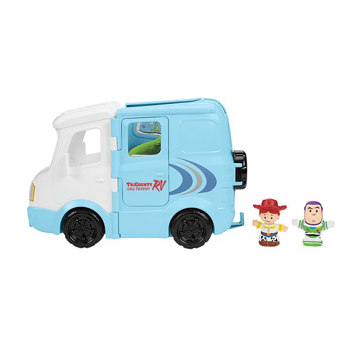 Fisher-Price - Little People - Toy Story 4 - Jessie's Campground Adventure - Spielset