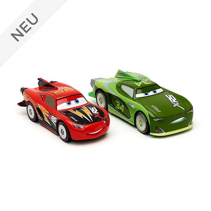 Disney Store - Lightning McQueen und Steve 'Slick' Lapage - Die Cast-Autos, 2er-Pack