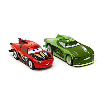 Disney Store Lightning McQueen and Steve 'Slick' Lapage Die-Cast Twin Pack
