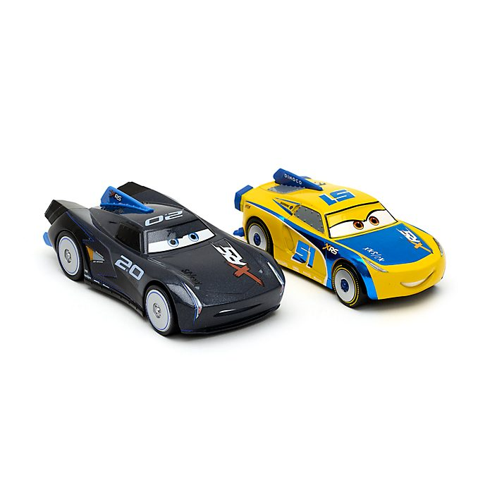 Disney Store Jackson Storm and Cruz Ramirez Die-Cast Twin Pack