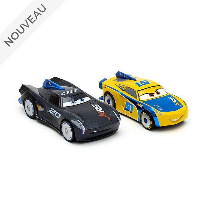 Disney Store Duo de voitures miniatures Jackson Storm et Cruz Ramirez
