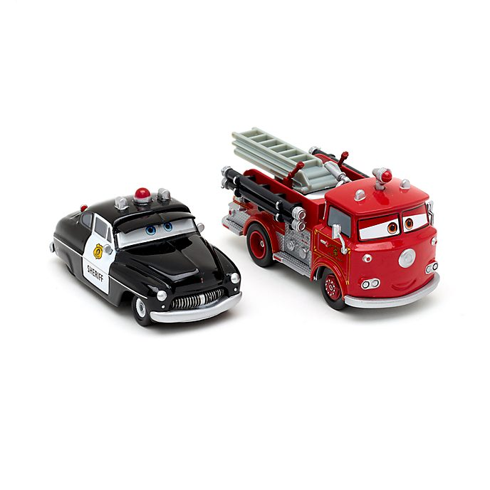 Disney Store Duo de voitures miniatures Sheriff et Red