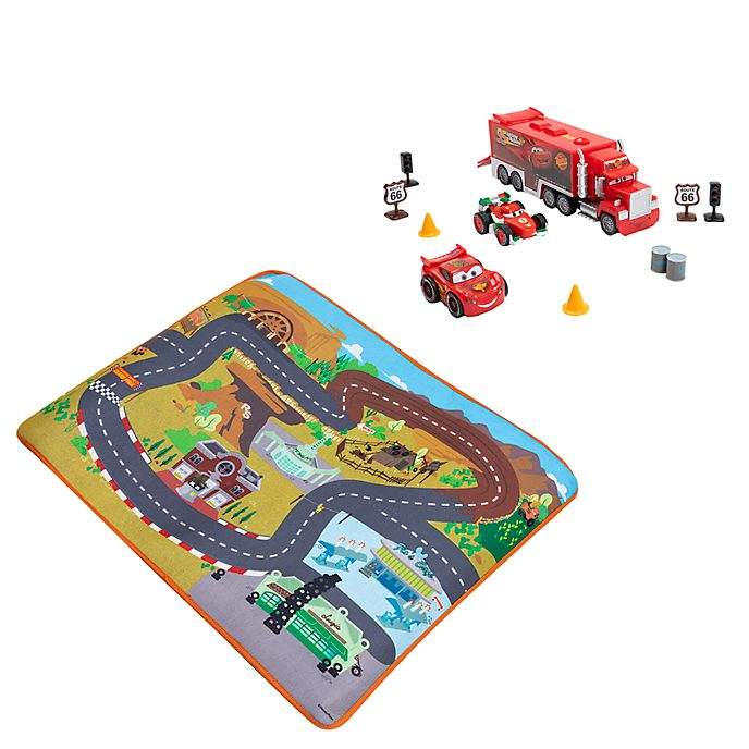 Disney Store Mack and Pals Deluxe Playset, Disney Pixar Cars