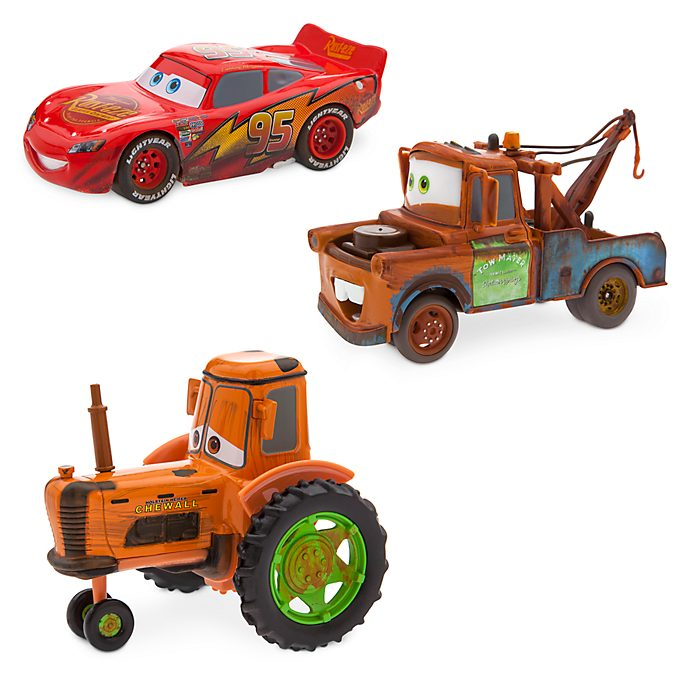 Disney Store Ensemble de voitures miniatures Radiator Springs, Disney Pixar Cars