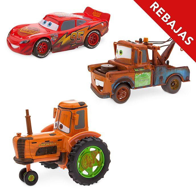 Set vehículos a escala Radiador Springs, Disney Pixar Cars, Disney Store