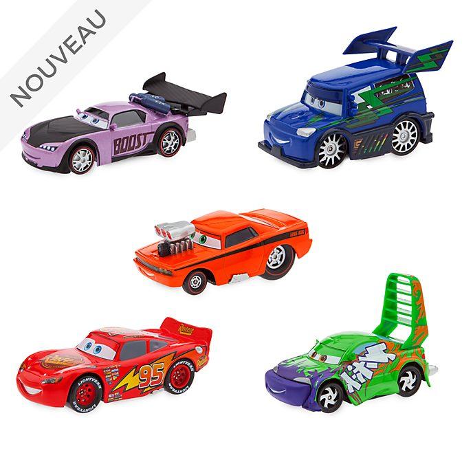 Disney Store Ensemble de voitures miniatures Flash McQueen et Delinquant Road Hazard