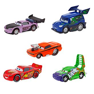 Disney Store Lightning McQueen and Road Delinquents Die-Cast Set