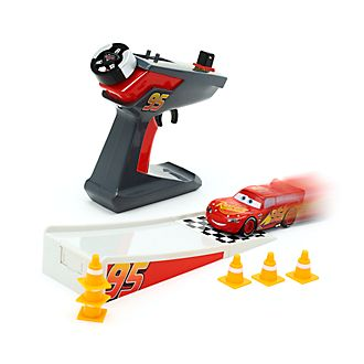 Disney Store Lightning McQueen Remote Control Car