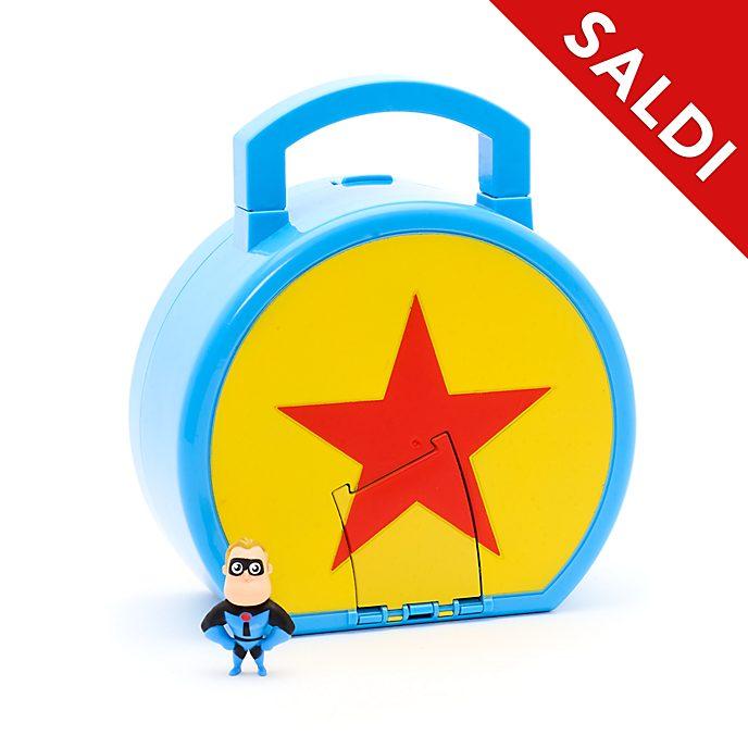 Set da gioco World of Pixar con mini personaggio Mattel