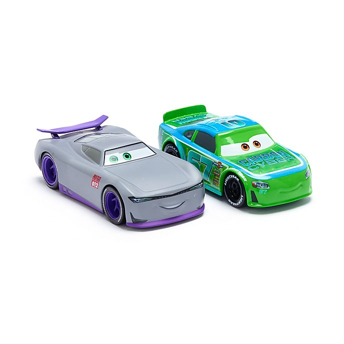 Disney Store Bobby Roadtesta and Trainee #012 Die-Cast Twin Pack