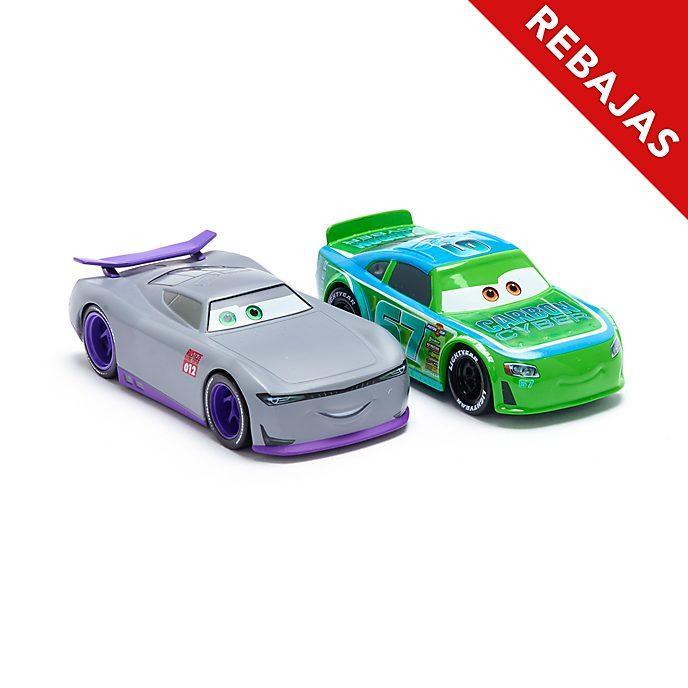 Set vehículos a escala Bobby Roadtesta y alumno #012, Disney Store (2 u.)