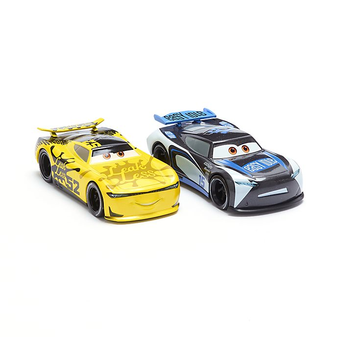 Disney Store Duo de voitures miniatures George New-Win et Harvey Rodcap