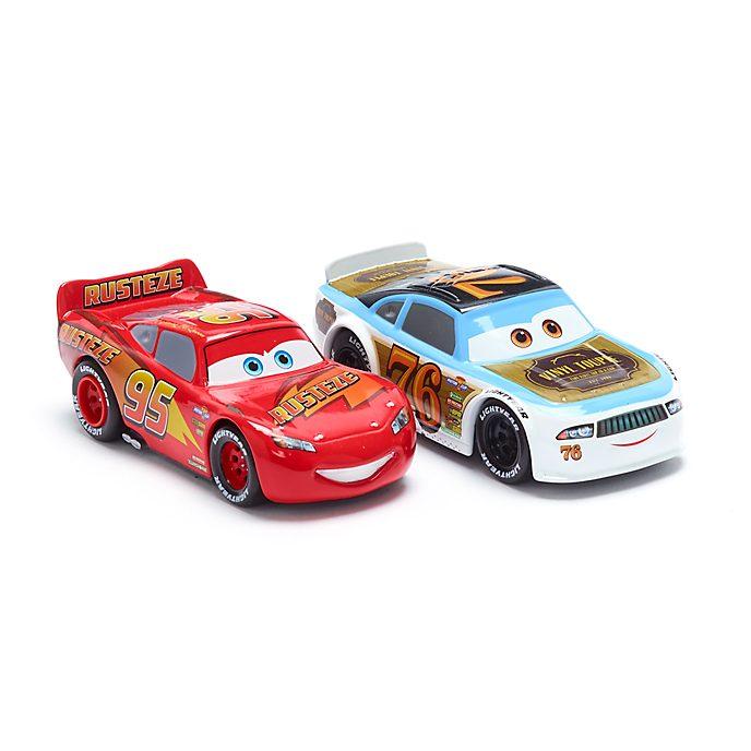 Disney Store Duo de voitures miniatures Flash McQueen et Rev Roadages