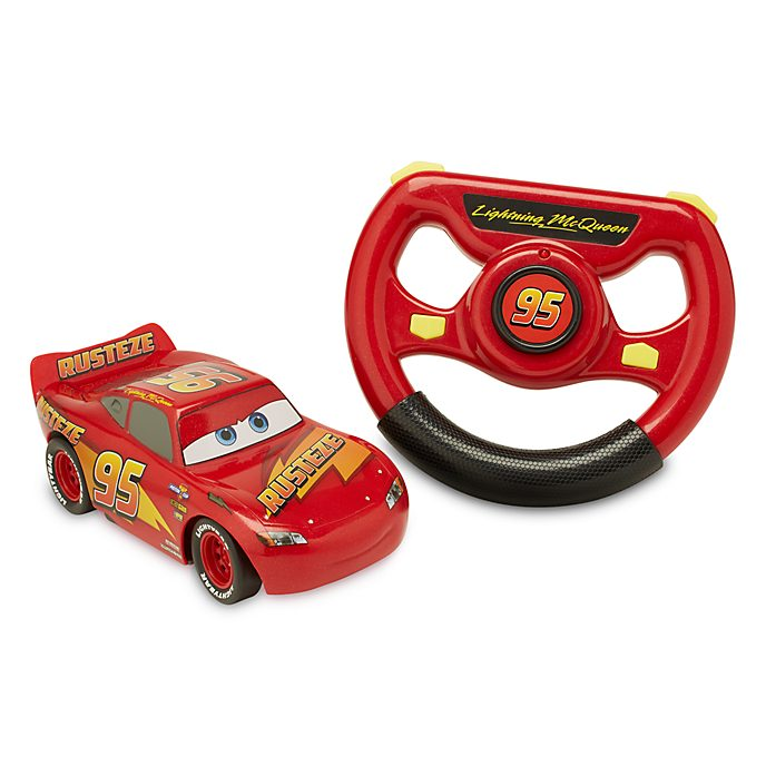Disney Store Lightning McQueen 6'' Remote Control Car