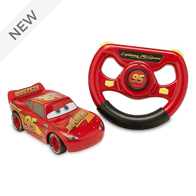Disney Store Lightning McQueen 6'' Remote Control Car