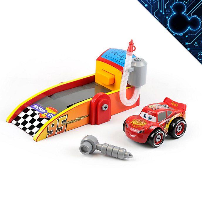 Disney Store Lightning McQueen Mechanic Shop Playset