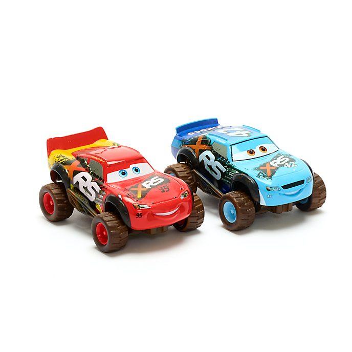 Disney Store Duo de voitures miniatures Flash McQueen et Brick Yardley