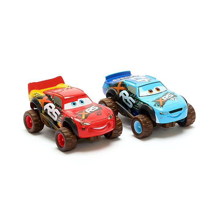Disney Store Lightning McQueen and Brick Yardley Die-Cast Twin Pack