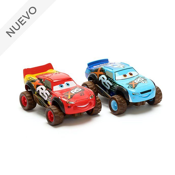 Set vehículos a escala Rayo McQueen y Brick Yardley, Disney Store (2 u.)