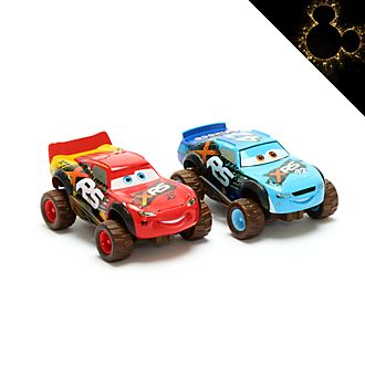 Set due macchinine Saetta McQueen e Brick Yardley Disney Store