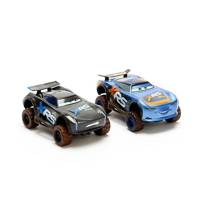 Set vehículos a escala Rayo McQueen y Jackson Storm, Disney Store (2 u.)