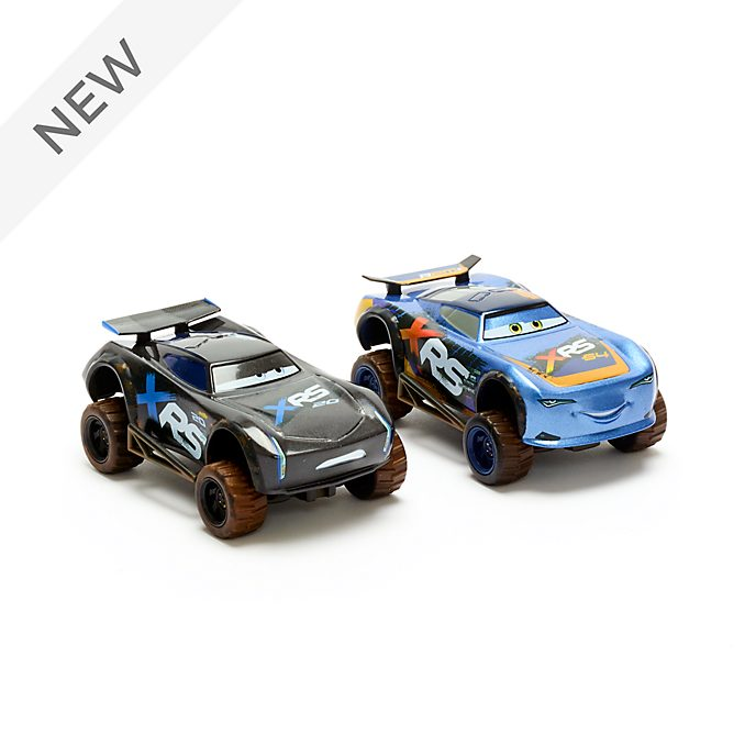 Disney Store Lightning McQueen and Jackson Storm Die-Cast Twin Pack