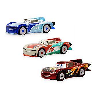 Set 3 macchinine Saetta McQueen, Terry Kargas e Paul Conrev Disney Store