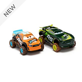 Disney Store Speedy Comet and Steve 'Slick' Lapage Die-Cast Twin Pack