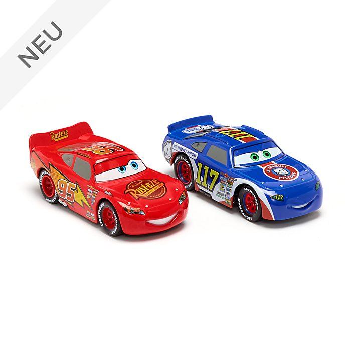 Disney Store - Lightning McQueen und Ralph Carlow - Die Cast-Autos, 2er-Pack