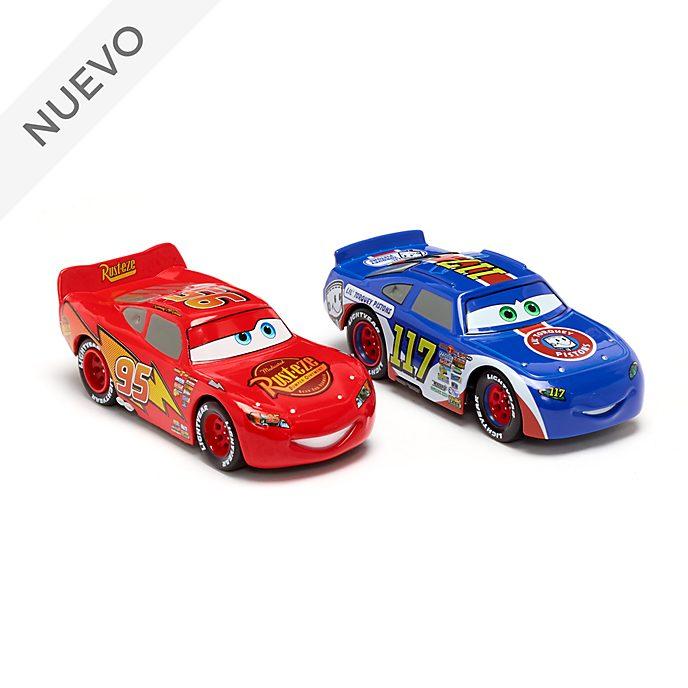 Set vehículos a escala Rayo McQueen y Ralph Carlow, Disney Store (2 u.)