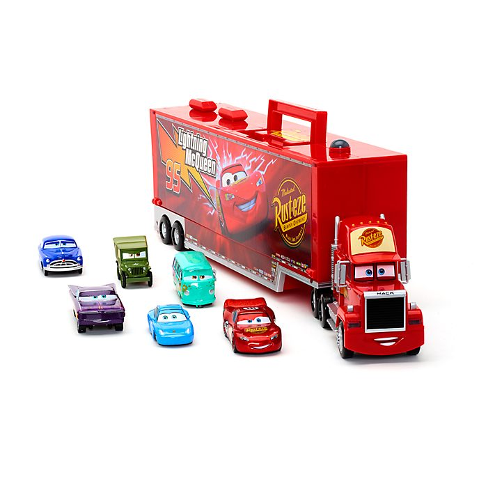 Disney Store Mack Friction Motor Hauler, Disney Pixar Cars